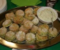 Rocket & Parmesan Scones with Creamy Herbed Feta