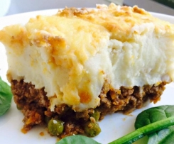 TASTY SHEPHERD'S PIE (POTATO PIE, COTTAGE PIE)