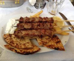 Greek souvlaki pita bread