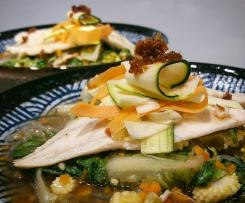 Healthy & Delicious Sea Bass Noodle Soup