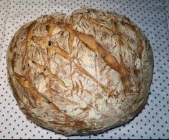 Olive Bread with Mediterranean herbs