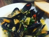Easy Moules Mariniere in White Wine and Pernod Broth