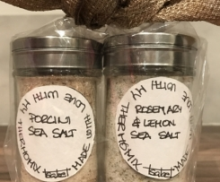 Flavoured Sea Salt: Porcini or Rosemary Lemon