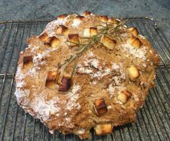 Soda Bread with Feta & Rosemary