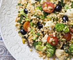 Israeli Cous Cous Salad