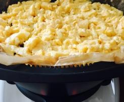 Creamy scrambled eggs (dairy free)