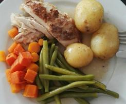 "Easy ""Roast"" Chicken & Veg"