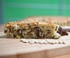 Courgette and Pine Nut Cake