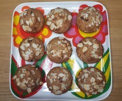 Oat Muffins with Raisins