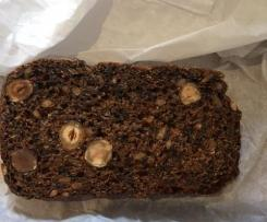 Pumpernickel style bread with nuts From German Basic Cookbook)