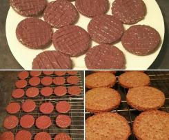 Chocolate Digestives (adapted from Paul Hollywood's Recipe)