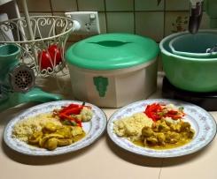 Lemon Chilli Chicken with Couscous